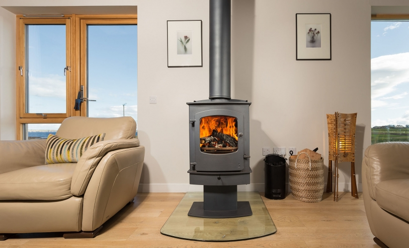 Cosy up around the multi-fuel stove
