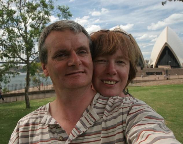 Linda and Paul Brown