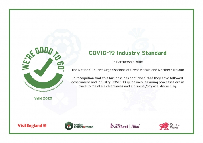 Our 'Covid-19 secure' cleaning regime